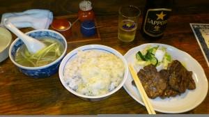 梵天丸 牛タン定食 とろろ付き