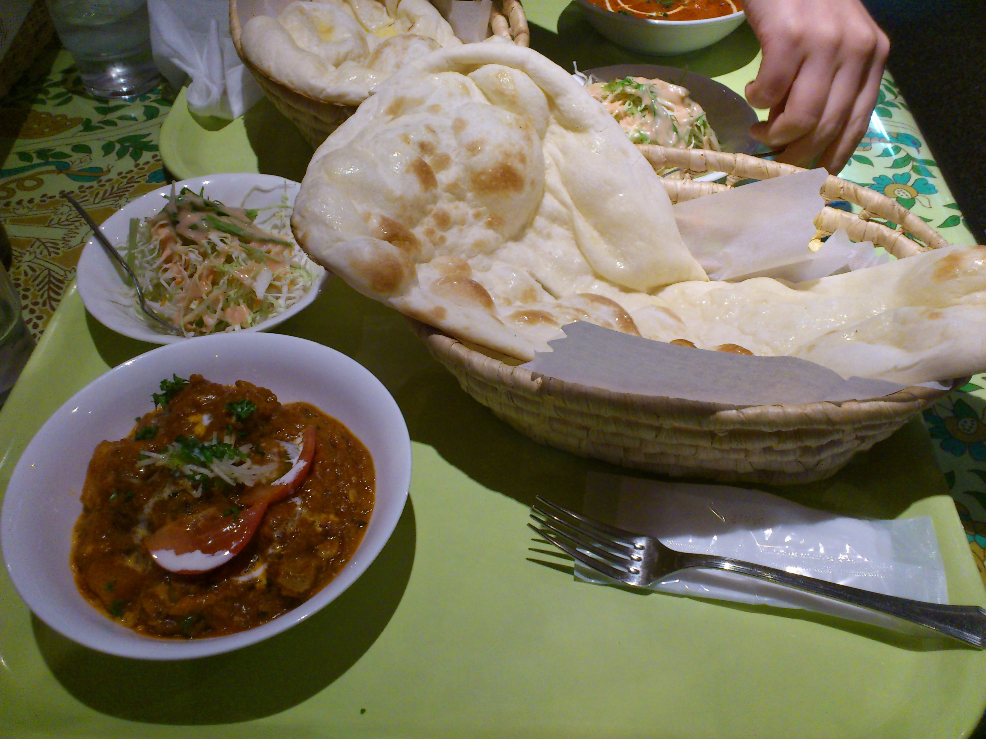 インドキッチン ラム・ジャガイモカレー