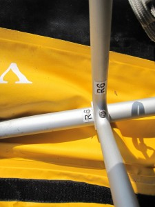 フォールディングカヤック ARFEQボイジャー460T R6の組み立て