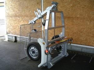 サン自動車のトレーラー